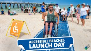Accessible Beaches Launch