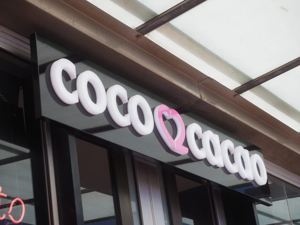 Coco Cocao sign